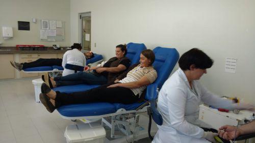 Hemocentro de Guarapuava reúne agentes para capacitação