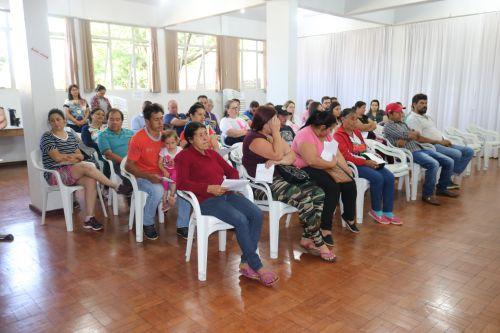 Programa Caixa d água Boa reuniu famílias contempladas com o projeto nesta sexta (11)