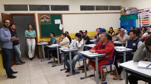 Jovens e adultos retomam seus estudos em Turvo