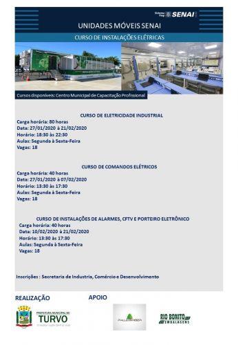 Secretarias Municipais ofertam cursos profissionalizantes nos meses de Janeiro e Fevereiro