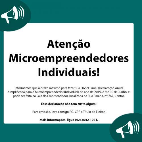Microempreendedores Individuais têm até 30 de junho para fazer a DASN-Simei