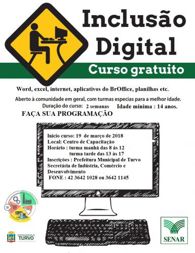 Curso de Inclusão Digital