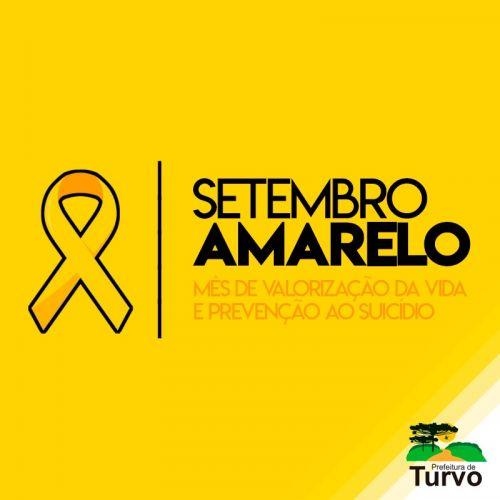 Secretaria de Saúde realiza o Setembro Amarelo, mês de valorização da vida e prevenção ao suicídio