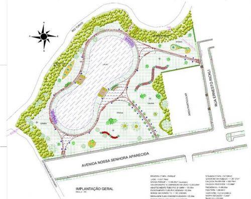 Prefeitura Municipal de Turvo divulga edital do processo licitatório para obras do Parque Ambiental