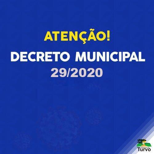Decreto 29/2020 - Toque de Recolher