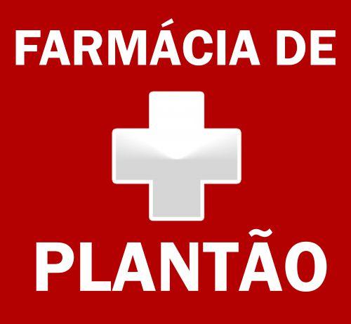 Plantão das farmácias em 2019