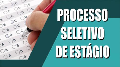 Processo seletivo para estágio - novo edital