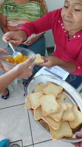 Palestras sobre alimentação as famílias