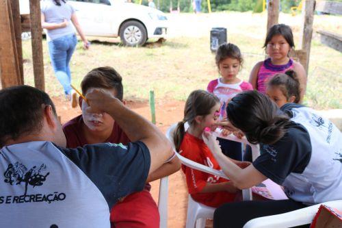 Inauguração de Parquinho Infantil no Núcleo Arvoredo