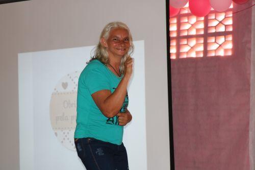 Gincana da campanha Outubro Rosa na Comunidade Cachoeira dos Turcos