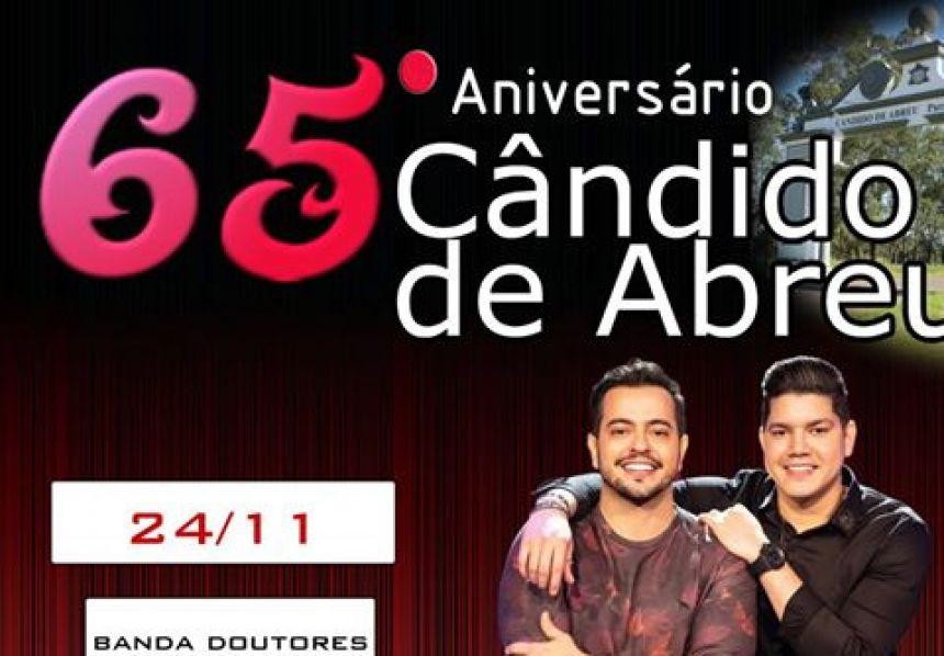 Festa de Aniversário 65 anos de Cândido de Abreu