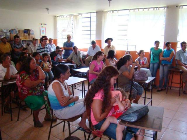 REUNIÃO COM MORADORES DAS COMUNIDADES DE MARUMBI E REGIÃO