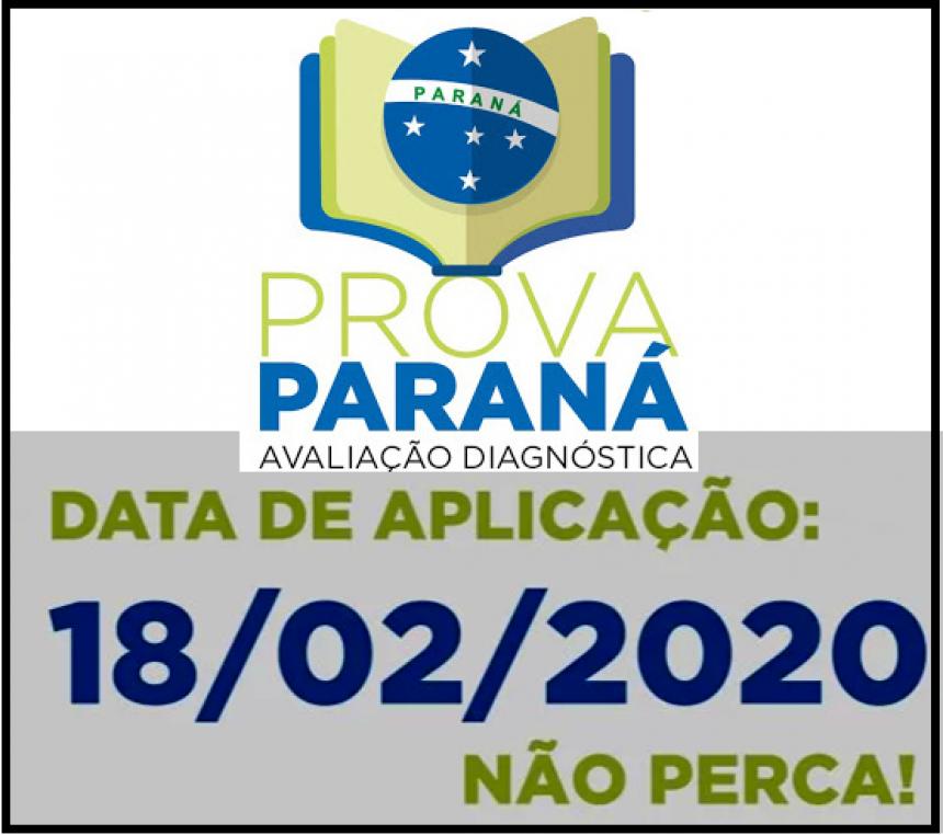 PROVA PARANÁ 2020