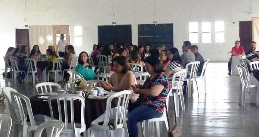 CAFÉ COLONIAL EM HOMENAGEM AOS PROFESSORES