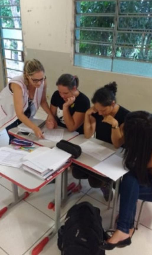 PROFESSORES  COMEÇAM O ANO LETIVO COM ESTUDOS E PLANEJAMENTO