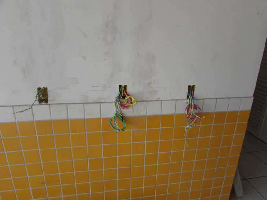 Obra da Super-creche do bairro CAMPÃO