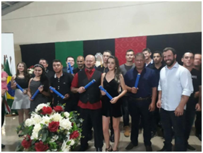 Formatura dos Cursos Técnicos EAD do Polo UAB de Cândido de Abreu