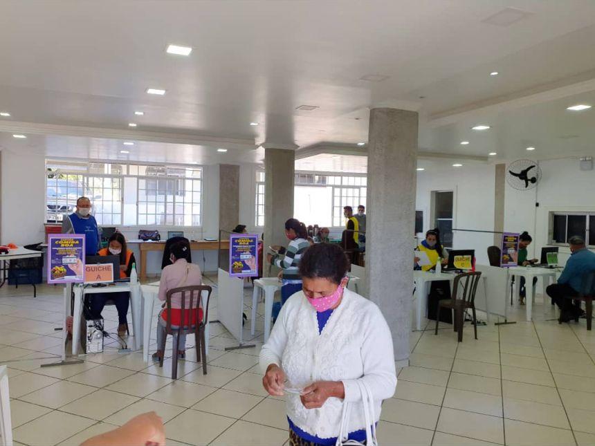 Assistência Social realiza cadastro para o programa COMIDA BOA