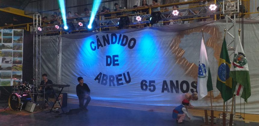 VII NOITE CULTURAL 65 ANOS DE CÂNDIDO DE ABREU
