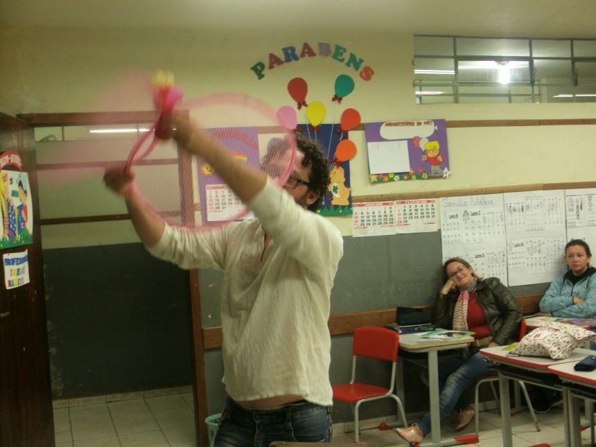 SECRETARIA DE EDUCAÇÃO E CULTURA PROMOVE CURSO DE CONTAÇÃO DE HISTÓRIAS EM CÂNDIDO DE ABREU