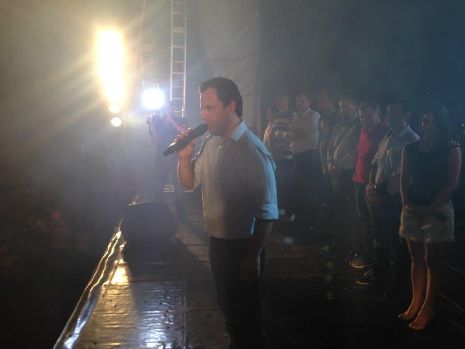 PRIMEIRA NOITE DA FESTA DOS 60 ANOS DE CÂNDIDO DE ABREU