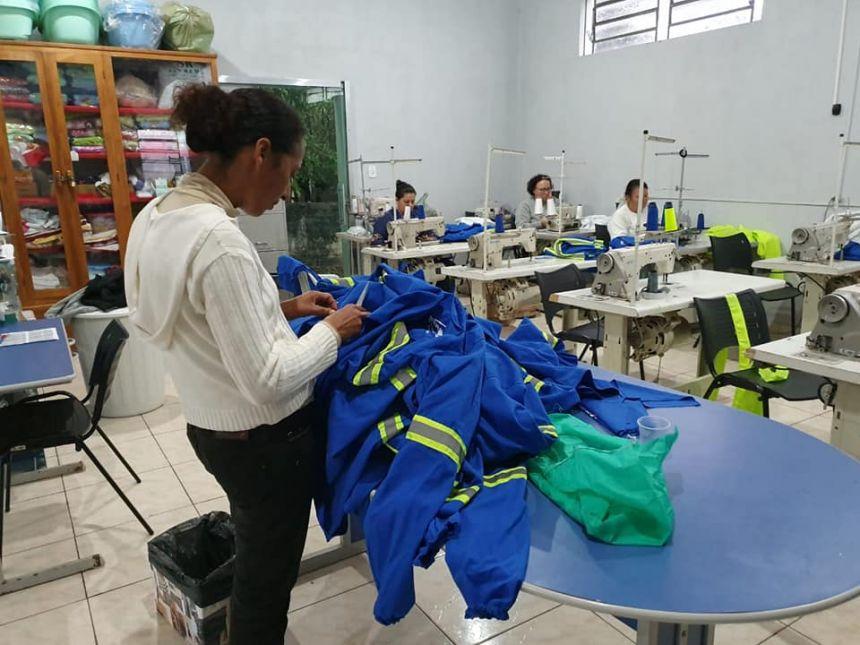 Assistência Social  promove Grupo de Produção têxtil