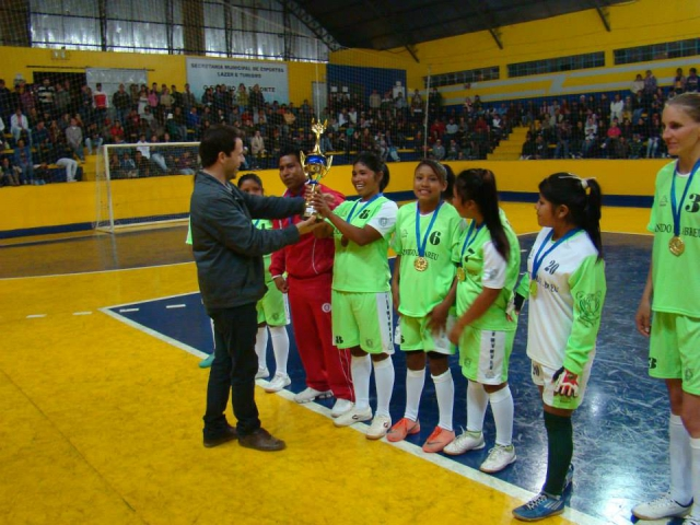FINAL DO CAMPEONATO MUNICIPAL DE FUTSAL FEMININO