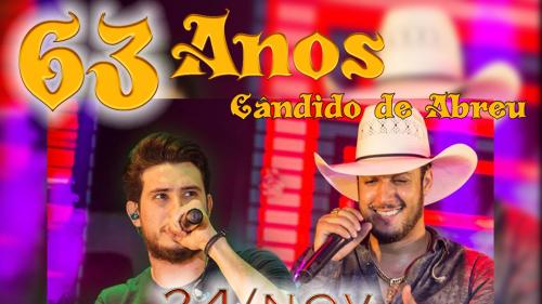 63º ANIVERSÁRIO DE CÂNDIDO DE ABREU