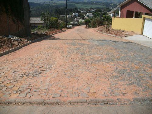 Obras de Pavimentação e Esgoto