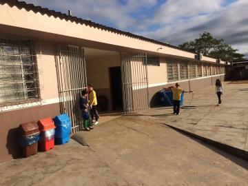 A Secretaria Municipal de Obras está efetua