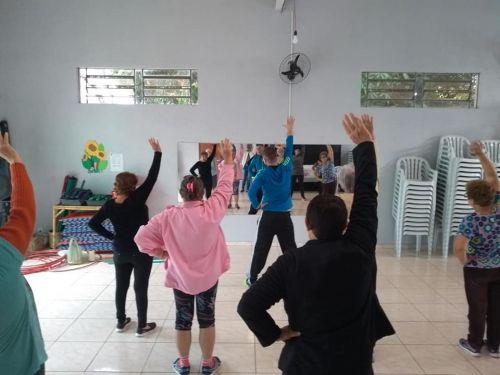 Secretaria de Assistência Social em parceria com o Esporte