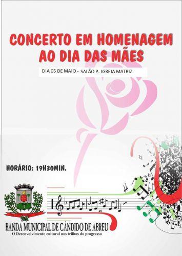 III Concerto em Homenagem ao dia das mães