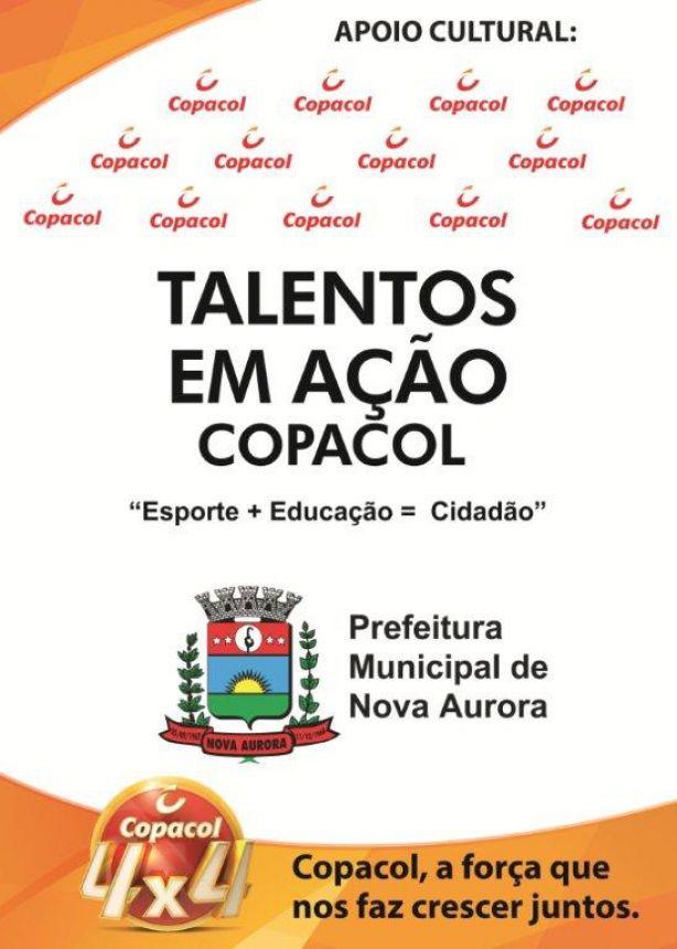 Atividades do projeto Talentos em Ação iniciam na próxima semana