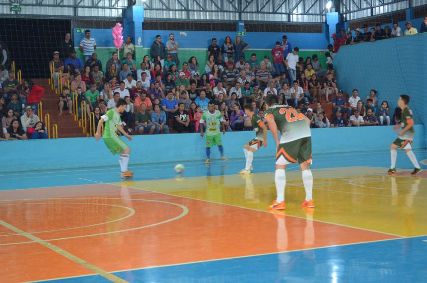 5º Campeonato municipal de futsal masculino livre inicia nessa quarta-feira