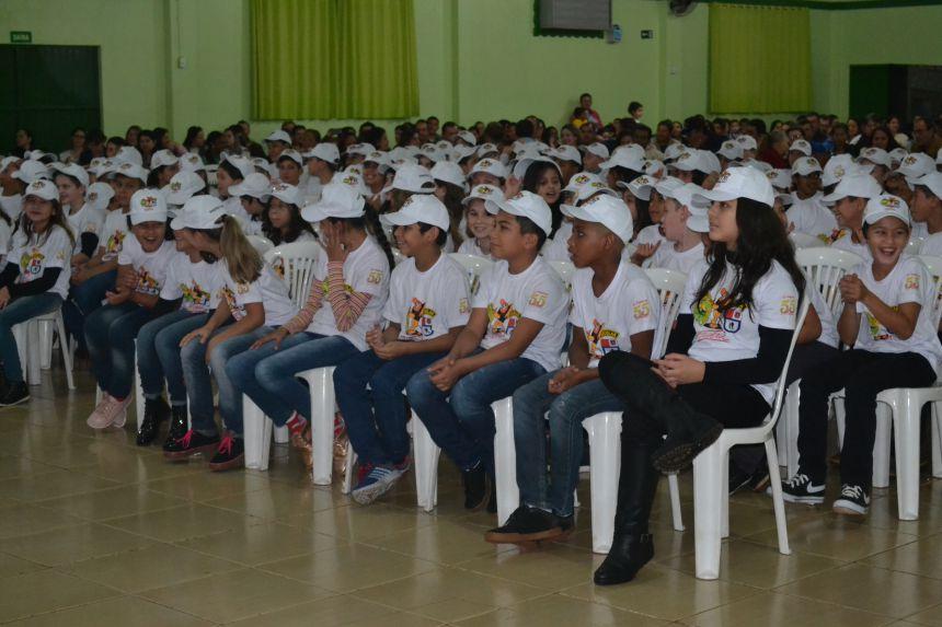 160 alunos são formados pelo Proerd em Nova Aurora
