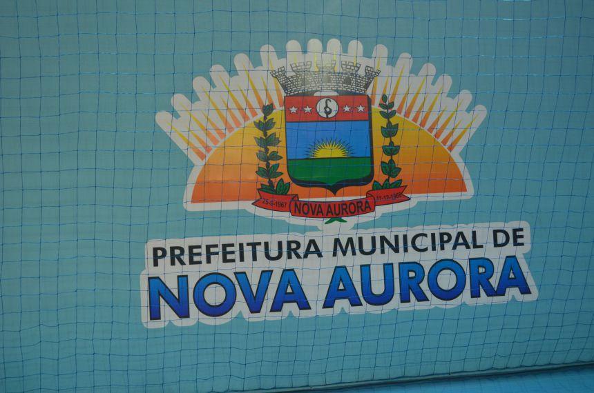 Administração municipal entrega reforma e ampliação do Ginásio de Esportes para população de Nova Aurora