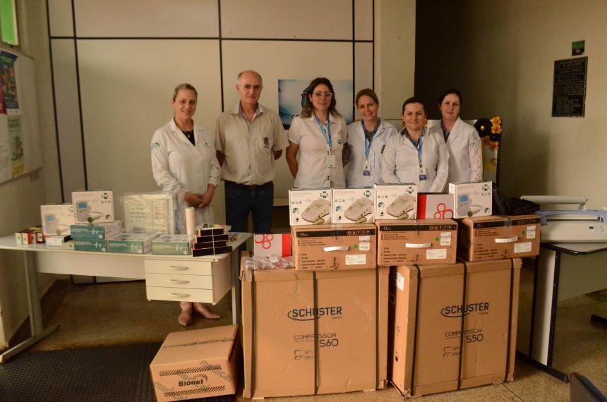 Secretaria de Saúde repassa R$ 150 mil em equipamentos para Unidades de Saúde
