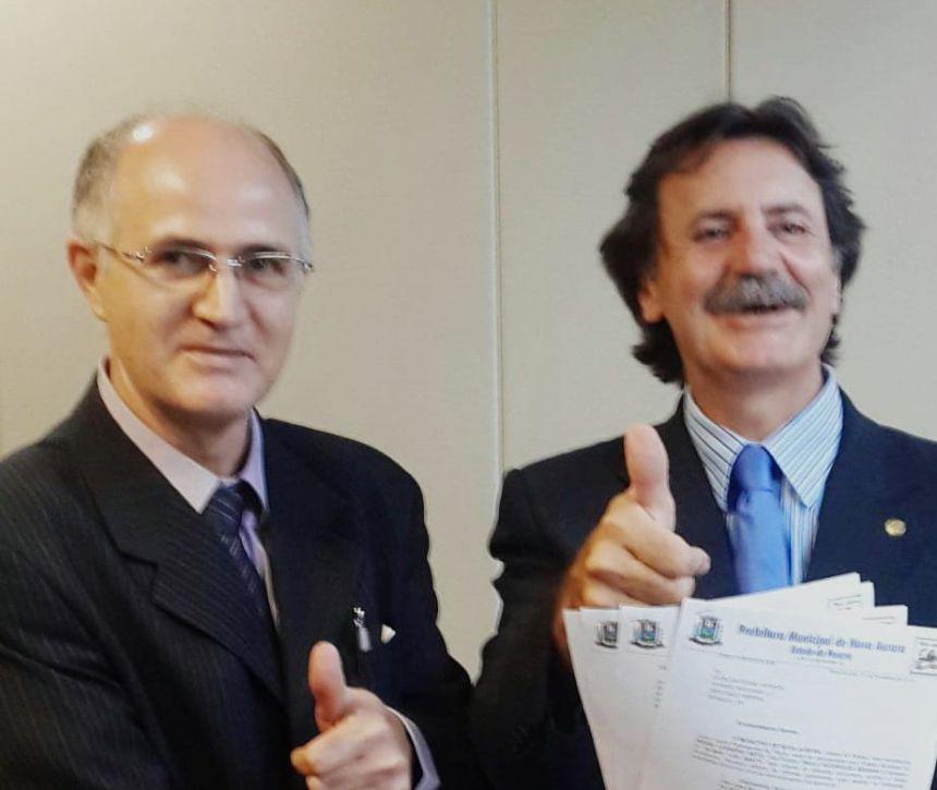 Deputado Frangão anuncia R$ 382 mil para segunda etapa de calçamento poliédrico entre Alto Alegre à Cafelândia
