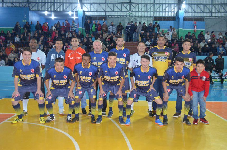 M.G Confecções e Uniformes consagrou-se campeão da Copa Odontec de Futsal Masculino
