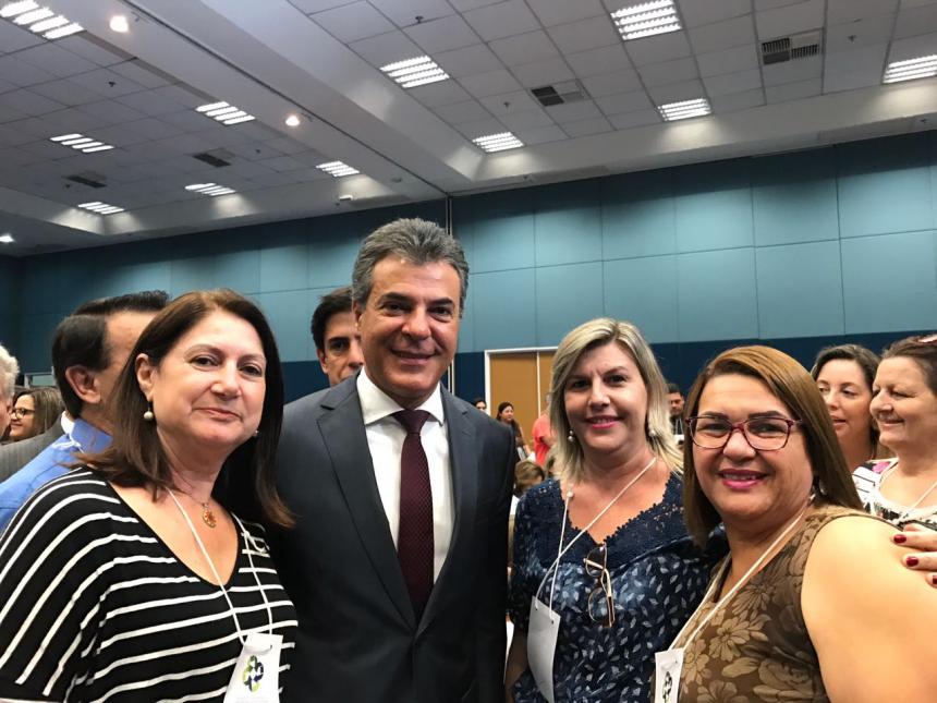 Secretaria de Saúde Municipal Luciana Tagliari Participou do Encontro Paranaense de Gestores Municipais da Saúde