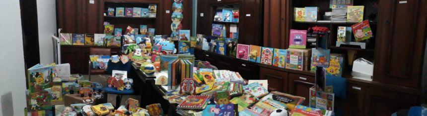 Secretaria de Educação investe recursos na aquisição de livros infantis