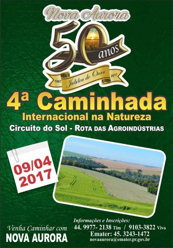4ª Caminhada Internacional na Natureza
