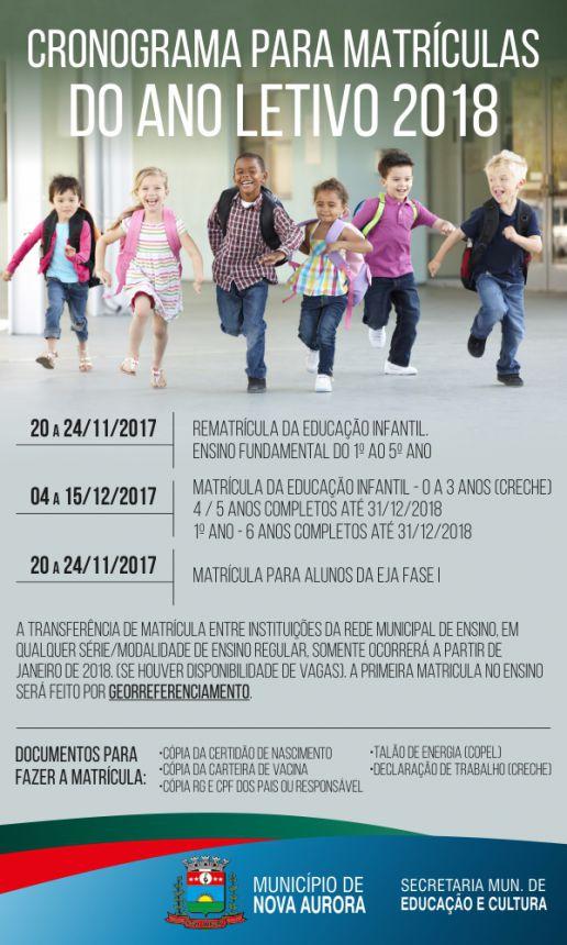 SEMEC abre período de matrículas escolares para CMEIS e escolas