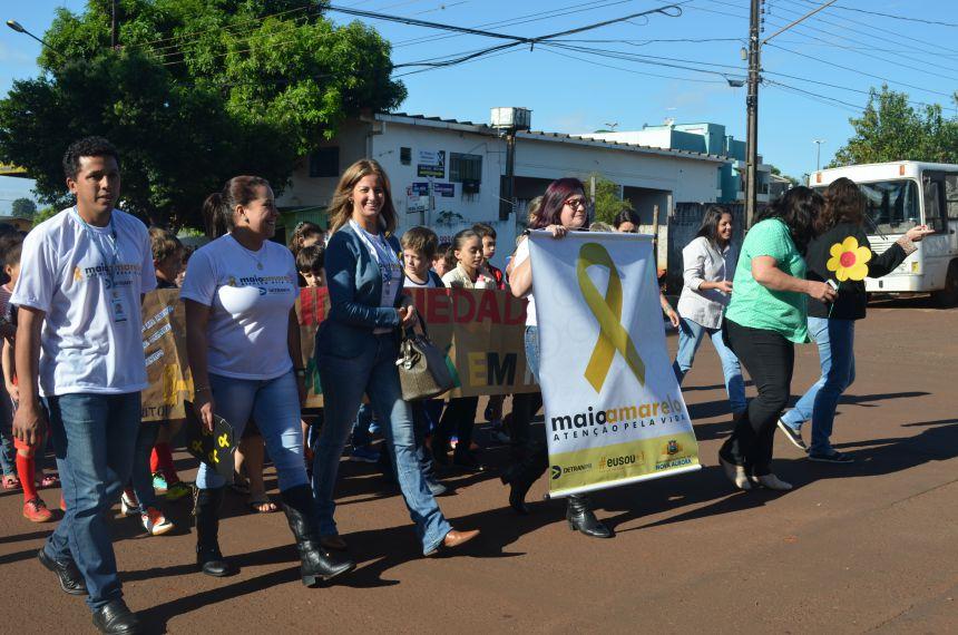 CRAS realiza mobilização ao Dia Nacional de Combate ao Abuso e a Exploração Sexual de Crianças e Adolescentes