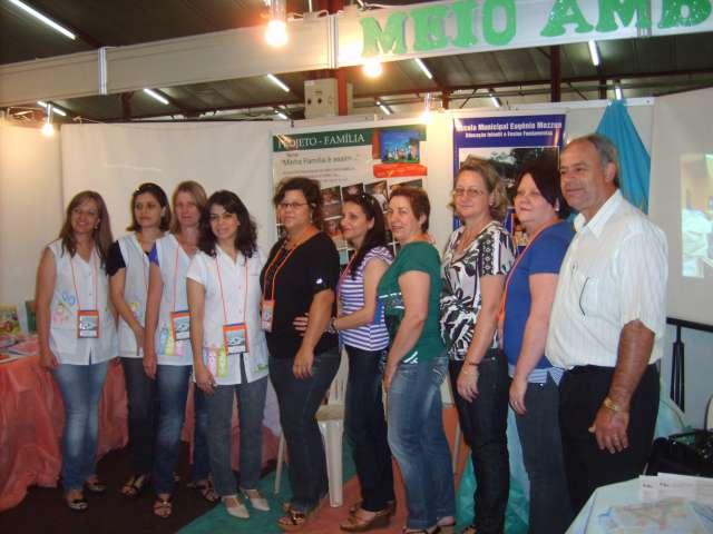 Escola Eugênio apresenta projeto ambiental na AMOP