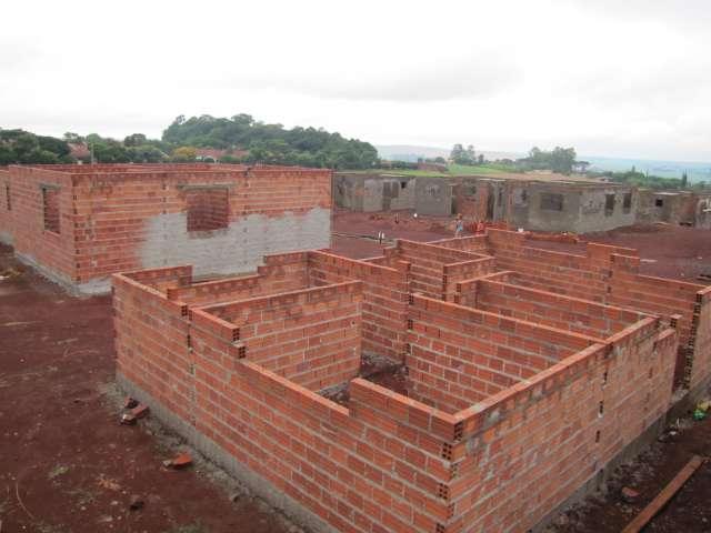 Construção de moradias segue em ritmo acelerado