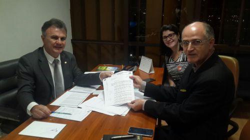 Prefeito Pedro Faz reivindicações em Brasilia