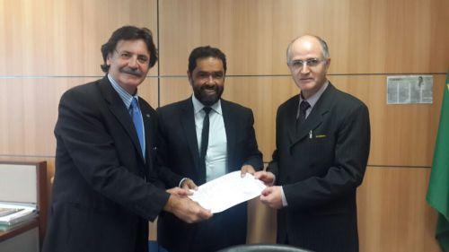 Prefeito Pedro e Dep. Frangão no Ministério do Turismo