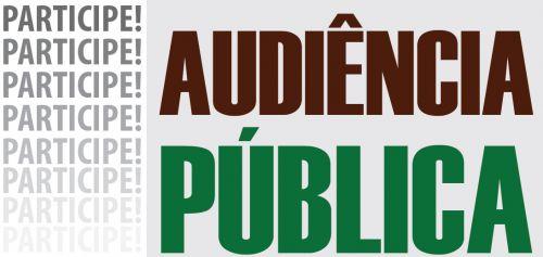 Município realiza audiência do plano diretor nessa quarta-feira