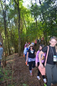 Realizada a 1ª Caminhada Internacional na Natureza em Nova Aurora
